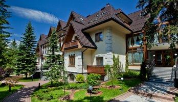 Hotel Belvedere**** - Luksusowy hotel położony w bezpośrednim sąsiedztwie Tatrzańskiego PN