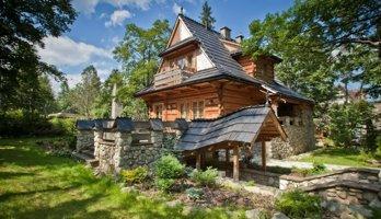 Domek Crocus - Klimatyczny góralski 8-os. domek z dostępem do atrakcji Hotelu Crocus