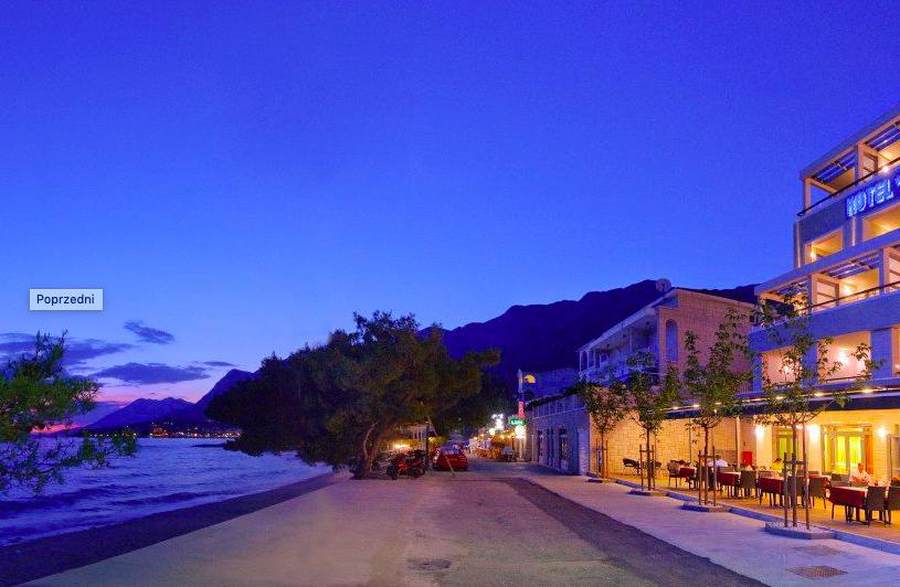 ciekawe miejsca w Chorwacji - hotel i restauracja