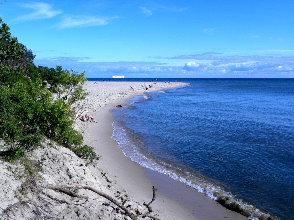 plaża na helu, polskie kurorty nad morzem
