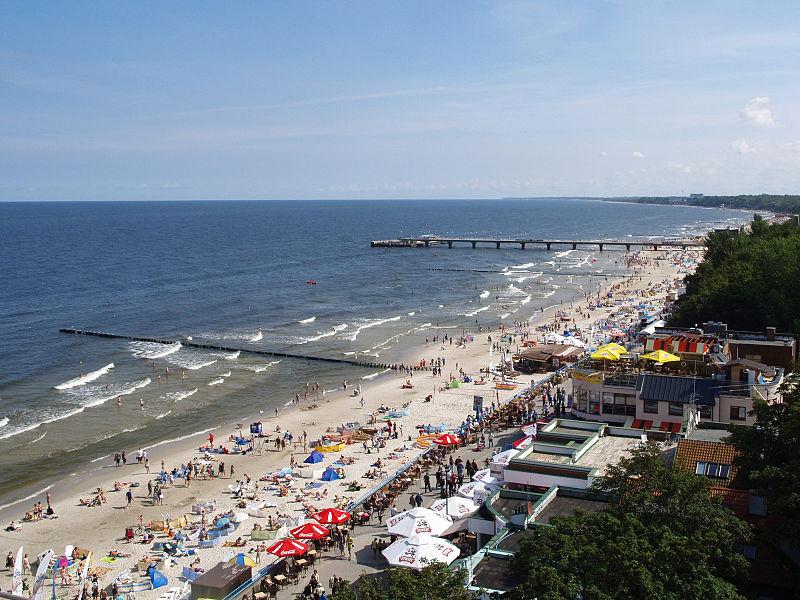 kołobrzeg- polskie kurorty nad morzem
