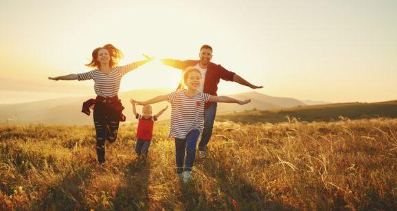 Rodzinny wyjazd jesienią