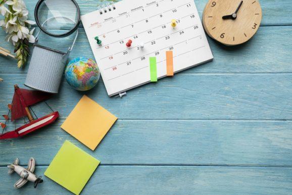 kalendarz planowanie urlopu