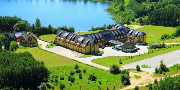 Manor Hotel Oferta podstawowa Bajkowy Obiekt Manor nad wspaniałym Olsztyńskim jeziorem wśród drzew i