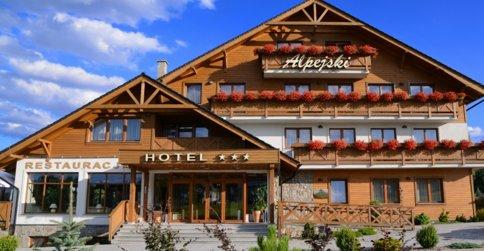noclegi Polanica-Zdrój Hotel Alpejski