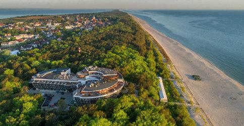 noclegi Jastarnia Hotel Dom Zdrojowy Resort&SPA