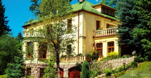 noclegi Szklarska Poręba Villa Romantica